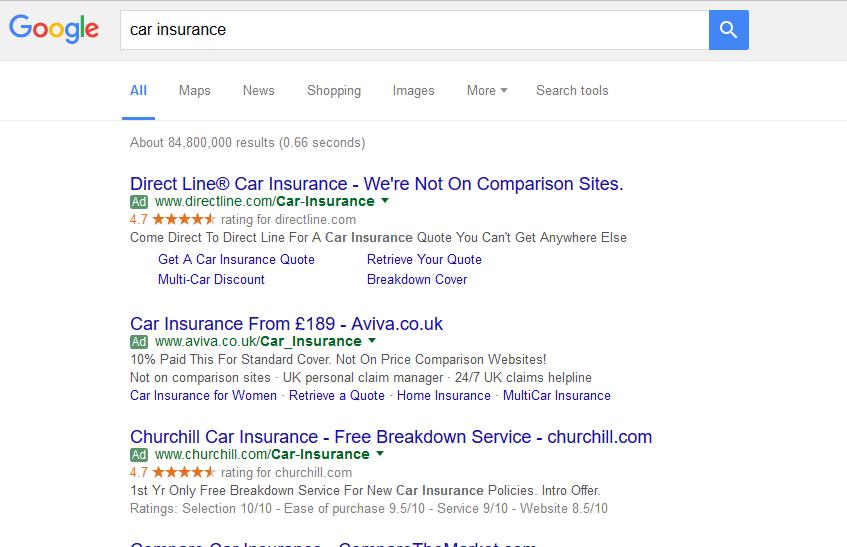 Direct Line Multi Car Insurance >> Adwords Cdl Media